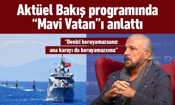 """Aktüel Bakış Seminerinde """"Mavi Vatan""""ı anlattı"""