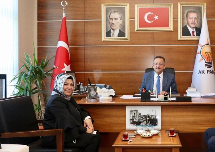 Başkan Döğücü'den Ankara Temasları