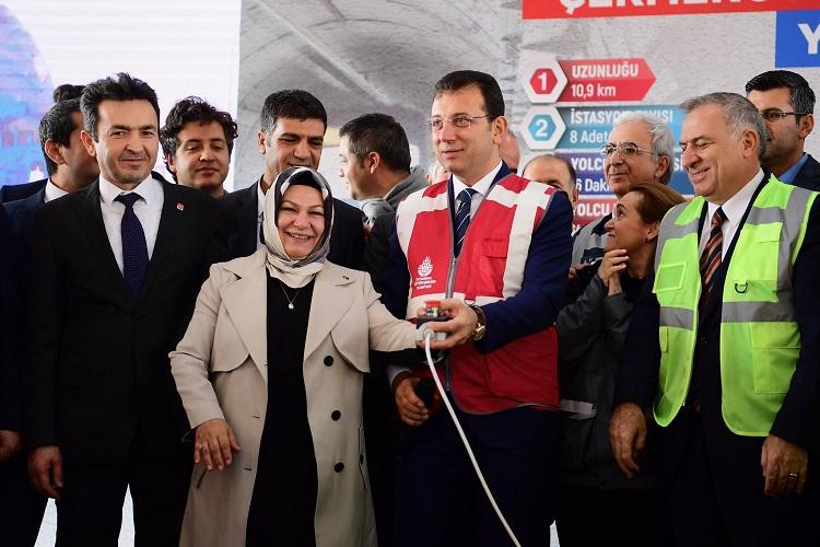 Çekmeköy-Sancaktepe-Sultanbeyli Metro Hattında Çalışma Başladı