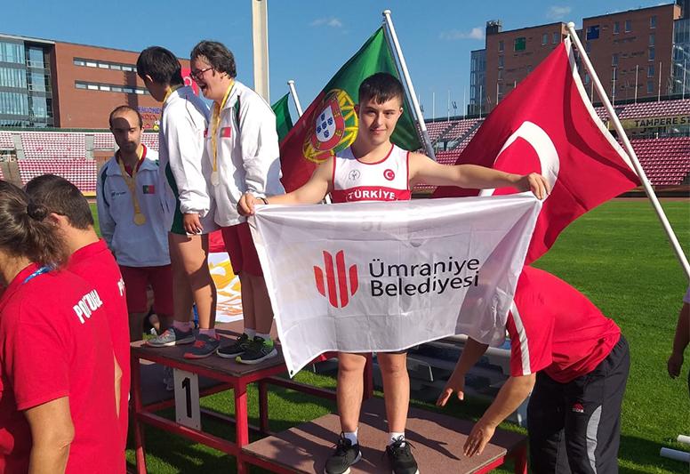 Down Sendromlu Rıdvan Yalçın Avrupa Şampiyonası'nda Büyük Bir Başarı Elde Etti