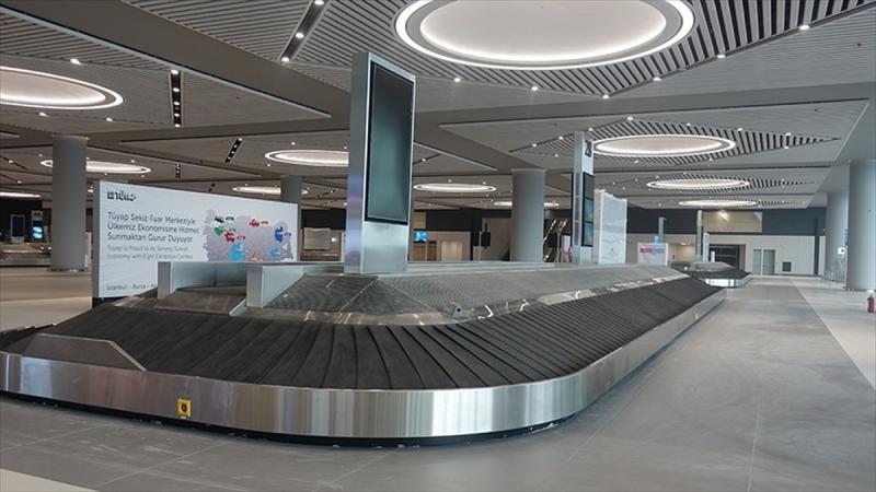 İstanbul Havalimanı'na 42 kilometrelik bagaj sistemi