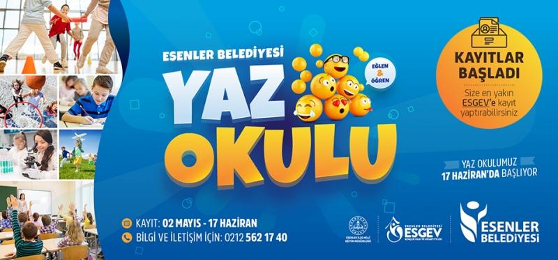 ÖĞRENCİLER HAYDİ YAZ OKULU'NA!