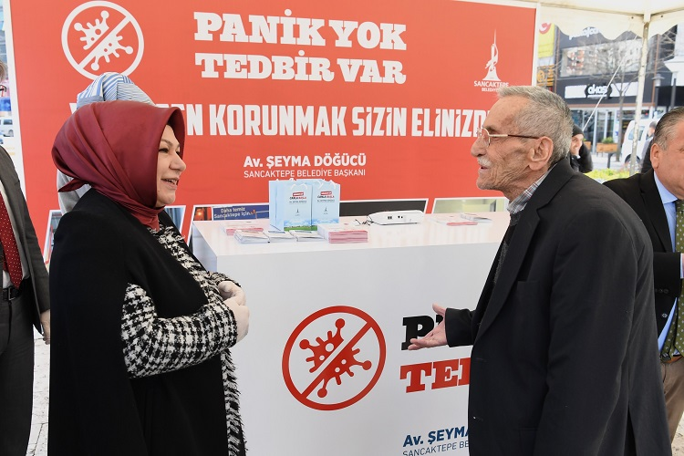 SANCAKTEPE'DE PANİK YOK,TEDBİR VAR