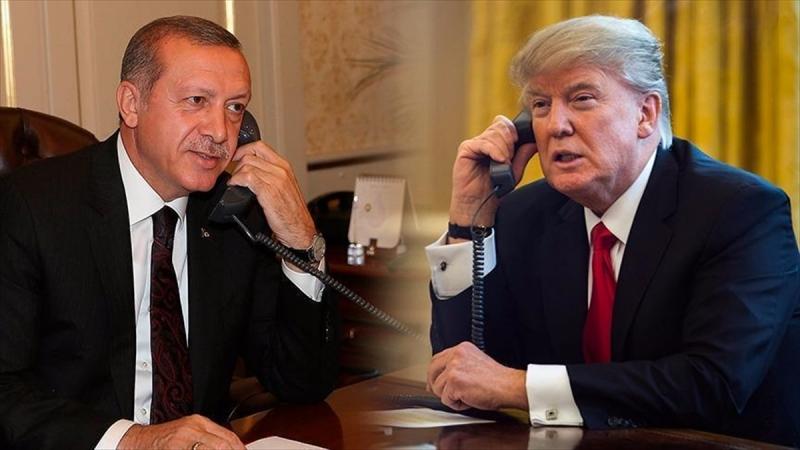 Trump'tan Erdoğan'a seçim tebriği