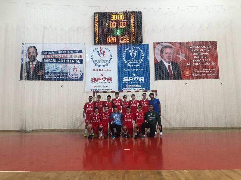 Ümraniye Belediyesi Gençlik ve Spor Kulübü Hentbol Takımından  Güzel Başlangıç