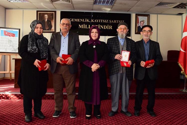 37 Kıbrıs Gazisi için Milli Mücadele Madalyası Töreni Düzenlendi