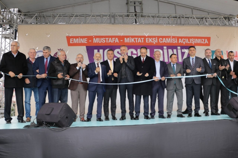 ÇEKMEKÖY'E YENİ CAMİ