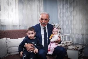 Başkan Yıldırım Ümraniye Ailesinin En Yeni Fertlerine Hoş Geldin Ziyaretlerine Devam Ediyor