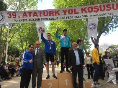 39. Atatürk Yol Koşusu Yarışlarının Şampiyonu Ümraniye!