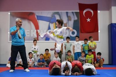 5 Bin Çocuk Sporla Tanıştı