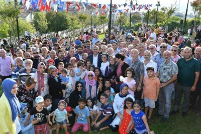 5 ÇAYI BULUŞMALARI ŞEHİT CENGİZ HASBAL PARKI'NDA YENİDEN BAŞLADI