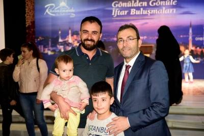 Başkan Ahmet Cin, İlk İftarda Gazi Ve Şehit Yakınlarıyla Buluştu