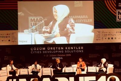 Başkan Döğücü, Marmara Uluslararası Kent Forumu'na katıldı