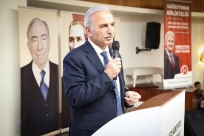Başkan Yıldırım MHP Ümraniye Teşkilatı ile İftarda Buluştu