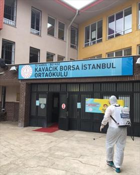 Beykoz'da Koronavirüsle Mücadele Hız Kesmeden Sürüyor