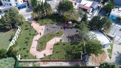 Çamçeşme Parkı Hizmete Girdi