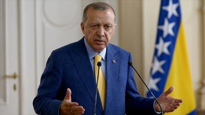 Cumhurbaşkanı Erdoğan: Bu tür tehditler bizi yoldan alıkoyamaz
