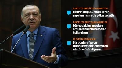 Cumhurbaşkanı Erdoğan: Bizim Cumhuriyetçiliğimizin ölçüsü bu ülkeye yaptığımız hizmetlerdir