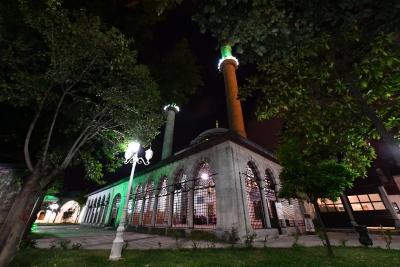 Enderun Usulü teravih namazı Üsküdar'da