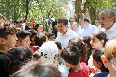 ESENLER'DE ŞENLİK GİBİ PİKNİK