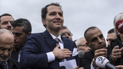 Fatih Erbakan 'Yeniden Refah Partisi'ni kurdu