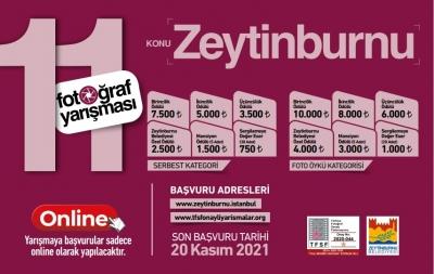 Geleneksel 11. Zeytinburnu Fotoğraf Yarışması
