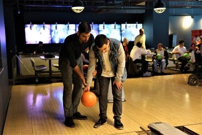 Görme Engelliler Bowling Turnuvası'nda Yarıştı