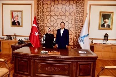İstanbul Valisi Yerlikaya'dan Sancaktepe Belediyesine Ziyaret