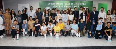 LGS'de Başarı Sağlayan Bilgi Evi Öğrencilerimizi Ödüllendirdik