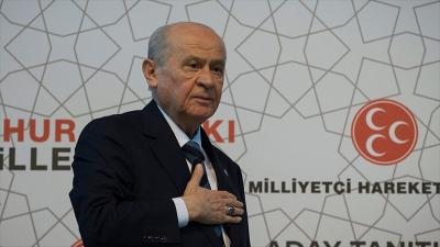 MHP Genel Başkanı Bahçeli: MHP'yi TBMM'de layık olduğu bir mevkiye mutlaka taşıyacağız