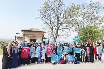 MİHMANDAR KIZLAR DİRİLİŞ KAMPI'NDA