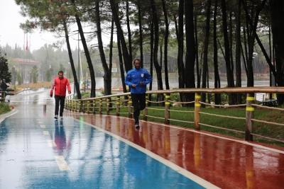 Milli Atlet, 2020 Tokyo Olimpiyatları'na Ümraniye'de Hazırlanıyor