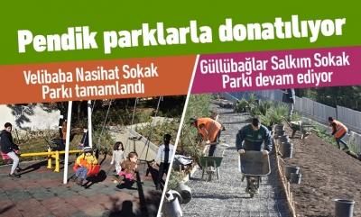 PENDİK PARKLARLA DONATILIYOR
