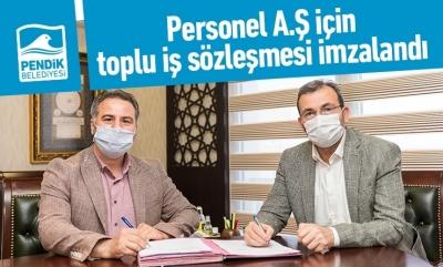 Personel A.Ş için toplu iş sözleşmesi imzalandı
