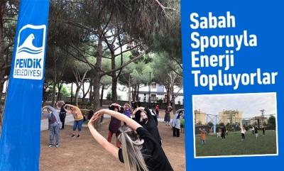 Sabah Sporuyla Enerji Topluyorlar