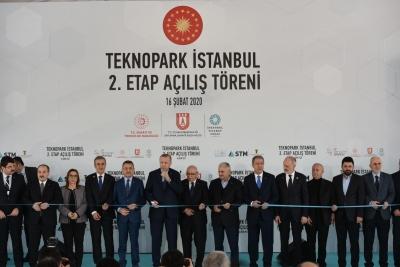 Teknopark İstanbul'un ikinci etabı açıldı