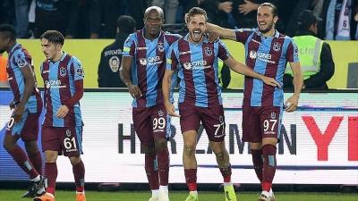 Trabzonspor taraftarının önünde Fenerbahçe'yi devirdi