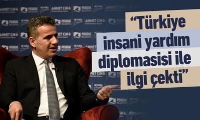 Türkiye insani yardım diplomasisi ile ilgi çekti