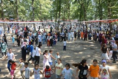 Tuzla'da Spor Zamanı Kursiyerleri Piknikte Buluştu