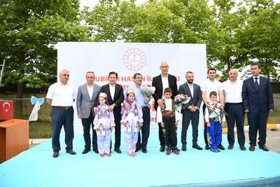 Ulubatlı Hasan İlkokulu Ek Hizmet Binasının Temeli Atıldı