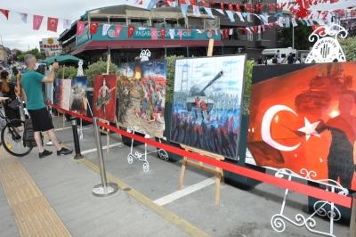 Ümraniye'de 'Milli İradenin Şahlanışı Sergisi'