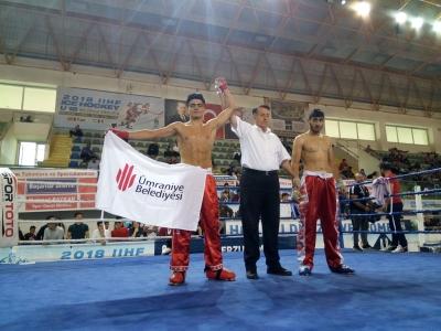 Ümraniyeli Kick Boks Sporcusu Türkiye Şampiyonu Oldu